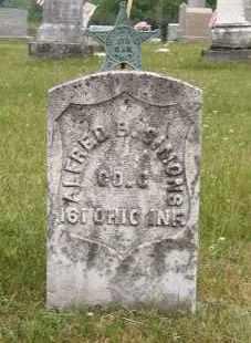 SIMONS, ALFRED - Washington County, Ohio | ALFRED SIMONS - Ohio Gravestone Photos