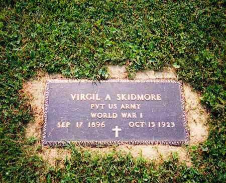 A SKIDMORE, VIRGIL - Washington County, Ohio | VIRGIL A SKIDMORE - Ohio Gravestone Photos