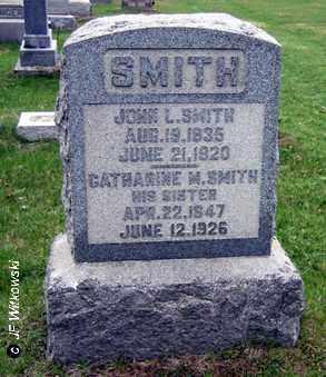 SMITH, JOHN L. - Washington County, Ohio | JOHN L. SMITH - Ohio Gravestone Photos