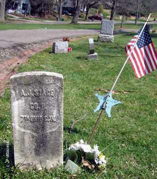 STAGE, ANDREW JACKSON - Washington County, Ohio   ANDREW JACKSON STAGE - Ohio Gravestone Photos