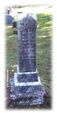 "CALLENDAR STEPHENS, ANNA JANE ""JANE"" - Washington County, Ohio | ANNA JANE ""JANE"" CALLENDAR STEPHENS - Ohio Gravestone Photos"