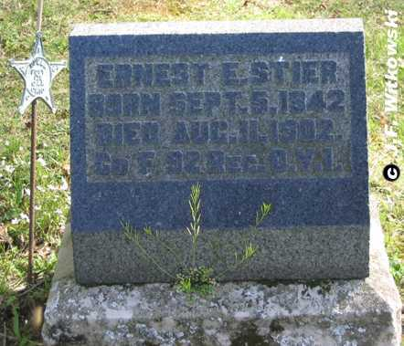STIER, ERNEST EDWARD SR - Washington County, Ohio | ERNEST EDWARD SR STIER - Ohio Gravestone Photos