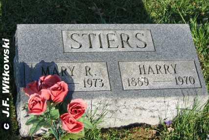 STIERS, HARRY - Washington County, Ohio | HARRY STIERS - Ohio Gravestone Photos