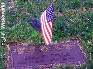 STYER, EARL CLIFFORD - Washington County, Ohio | EARL CLIFFORD STYER - Ohio Gravestone Photos