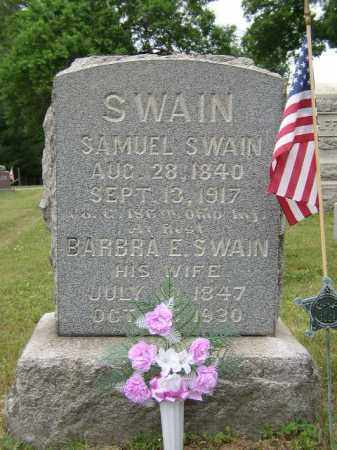 SWAIN, BARBRA - Washington County, Ohio | BARBRA SWAIN - Ohio Gravestone Photos