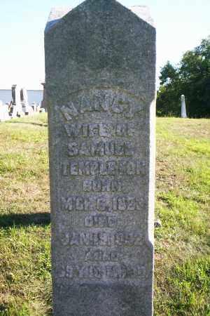 TEMPLETON, NANCY - Washington County, Ohio | NANCY TEMPLETON - Ohio Gravestone Photos