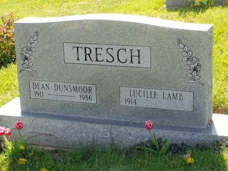 TRESCH, DEAN DUNSMOOR - Washington County, Ohio | DEAN DUNSMOOR TRESCH - Ohio Gravestone Photos