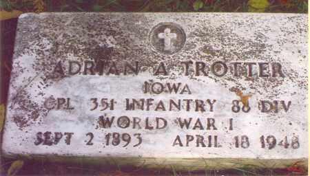 TROTTER, ADRIAN - Washington County, Ohio   ADRIAN TROTTER - Ohio Gravestone Photos