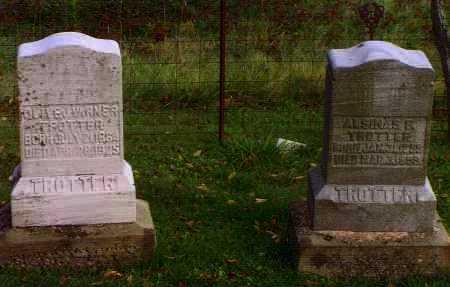 TROTTER, OLIVE J. - Washington County, Ohio | OLIVE J. TROTTER - Ohio Gravestone Photos