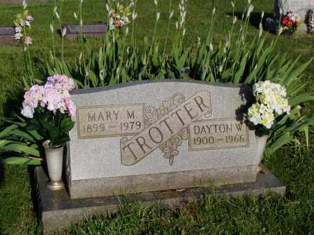 TROTTER, MARY M. - Washington County, Ohio | MARY M. TROTTER - Ohio Gravestone Photos