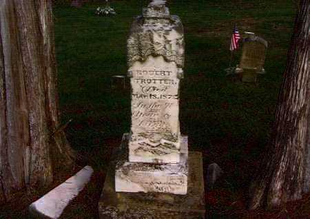 TROTTER, ROBERT - Washington County, Ohio | ROBERT TROTTER - Ohio Gravestone Photos