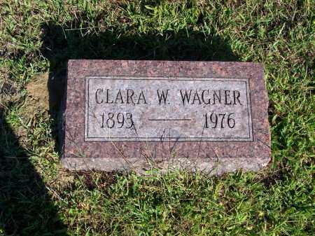 WAGNER, CLARA M - Washington County, Ohio | CLARA M WAGNER - Ohio Gravestone Photos