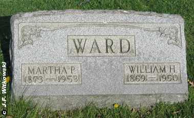 WARD, WILLIAM H. - Washington County, Ohio   WILLIAM H. WARD - Ohio Gravestone Photos
