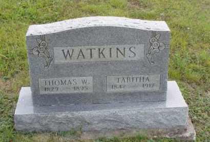 WATKINS, THOMAS W. - Washington County, Ohio | THOMAS W. WATKINS - Ohio Gravestone Photos