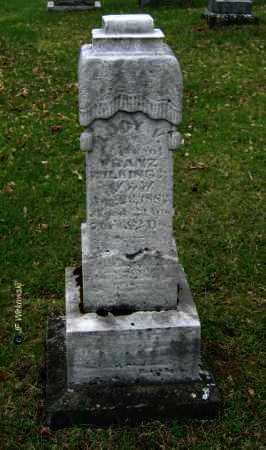 WILKING, LUCY V. - Washington County, Ohio   LUCY V. WILKING - Ohio Gravestone Photos