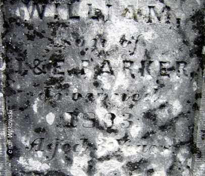 WILLIAM, BARKER - Washington County, Ohio | BARKER WILLIAM - Ohio Gravestone Photos