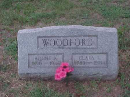 MCKENNA WOODFORD, CLARA - Washington County, Ohio   CLARA MCKENNA WOODFORD - Ohio Gravestone Photos