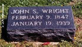 WRIGHT, JOHN S. - Washington County, Ohio | JOHN S. WRIGHT - Ohio Gravestone Photos