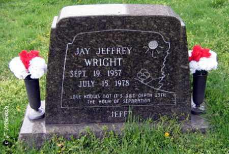 """WRIGHT, JAY JEFFREY """"JEFF"""" - Washington County, Ohio   JAY JEFFREY """"JEFF"""" WRIGHT - Ohio Gravestone Photos"""