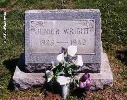 """WRIGHT, LLOYD BENJAMIN """"JUNIOR"""" JR - Washington County, Ohio   LLOYD BENJAMIN """"JUNIOR"""" JR WRIGHT - Ohio Gravestone Photos"""