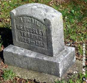 "YEARING - YERIAN, ABIGAIL ""ABBIE"" - Washington County, Ohio | ABIGAIL ""ABBIE"" YEARING - YERIAN - Ohio Gravestone Photos"