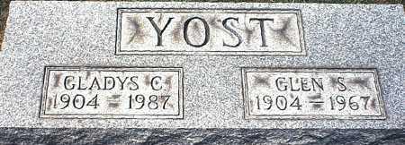 NEEDS YOST, GLADYS C. - Washington County, Ohio | GLADYS C. NEEDS YOST - Ohio Gravestone Photos