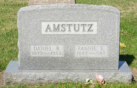 AMSTUTZ, FANNIE E - Wayne County, Ohio   FANNIE E AMSTUTZ - Ohio Gravestone Photos