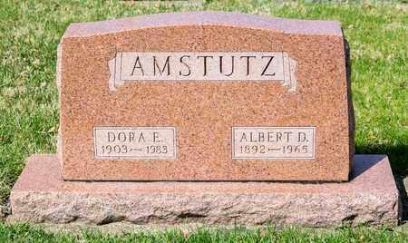 AMSTUTZ, DORA E - Wayne County, Ohio | DORA E AMSTUTZ - Ohio Gravestone Photos