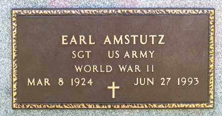 AMSTUTZ, EARL - Wayne County, Ohio | EARL AMSTUTZ - Ohio Gravestone Photos