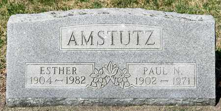 AMSTUTZ, ESTHER - Wayne County, Ohio | ESTHER AMSTUTZ - Ohio Gravestone Photos
