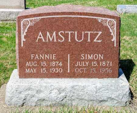 AMSTUTZ, FANNIE - Wayne County, Ohio | FANNIE AMSTUTZ - Ohio Gravestone Photos
