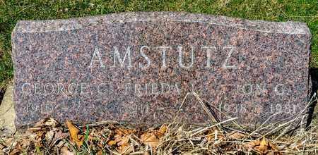 AMSTUTZ, GEORGE CALVIN - Wayne County, Ohio | GEORGE CALVIN AMSTUTZ - Ohio Gravestone Photos