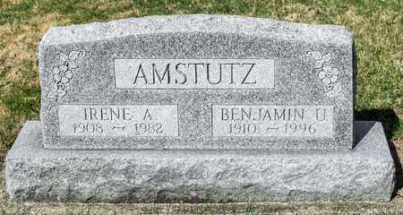 AMSTUTZ, BENJAMIN U - Wayne County, Ohio   BENJAMIN U AMSTUTZ - Ohio Gravestone Photos