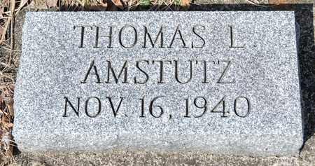AMSTUTZ, THOMAS L - Wayne County, Ohio | THOMAS L AMSTUTZ - Ohio Gravestone Photos