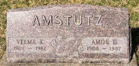 AMSTUTZ, AMOS D - Wayne County, Ohio | AMOS D AMSTUTZ - Ohio Gravestone Photos
