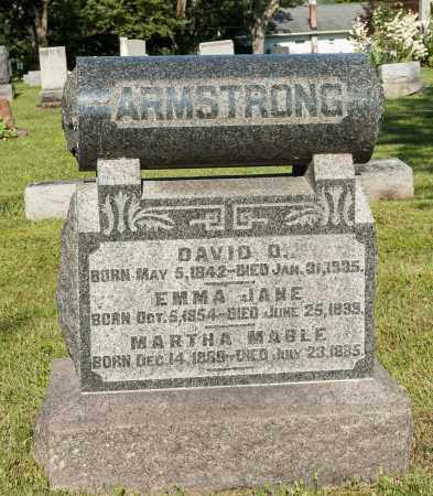BROWN ARMSTRONG, EMMA JANE - Wayne County, Ohio | EMMA JANE BROWN ARMSTRONG - Ohio Gravestone Photos