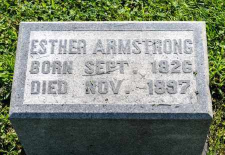 ARMSTRONG, ESTHER - Wayne County, Ohio | ESTHER ARMSTRONG - Ohio Gravestone Photos