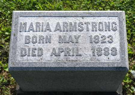 ARMSTRONG, MARIA - Wayne County, Ohio | MARIA ARMSTRONG - Ohio Gravestone Photos