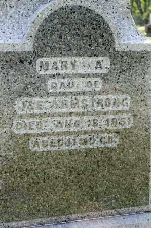 ARMSTRONG, MARY A. - Wayne County, Ohio | MARY A. ARMSTRONG - Ohio Gravestone Photos
