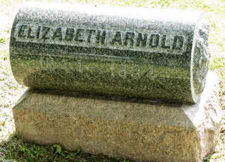 ARNOLD, ELIZABETH - Wayne County, Ohio   ELIZABETH ARNOLD - Ohio Gravestone Photos
