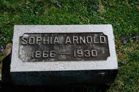 ARNOLD, SOPHIA - Wayne County, Ohio | SOPHIA ARNOLD - Ohio Gravestone Photos