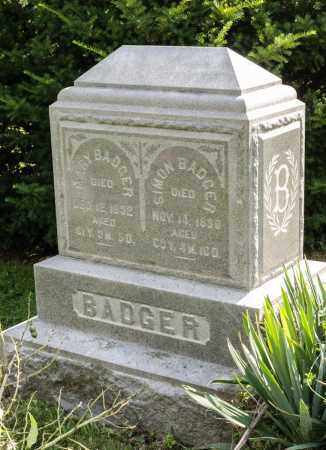 MILLER BADGER, MARY - Wayne County, Ohio | MARY MILLER BADGER - Ohio Gravestone Photos