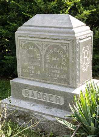 BADGER, MARY - Wayne County, Ohio | MARY BADGER - Ohio Gravestone Photos