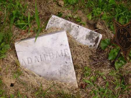 BAIR, ADAM - Wayne County, Ohio | ADAM BAIR - Ohio Gravestone Photos