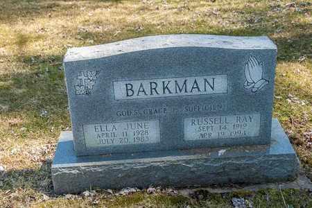 BARKMAN, RUSSELL RAY - Wayne County, Ohio   RUSSELL RAY BARKMAN - Ohio Gravestone Photos