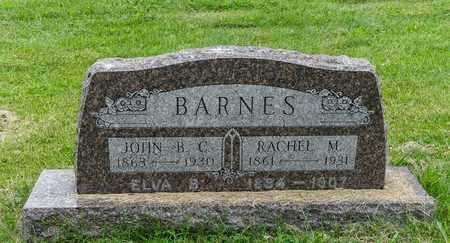 BARNES, ELVA B. - Wayne County, Ohio | ELVA B. BARNES - Ohio Gravestone Photos
