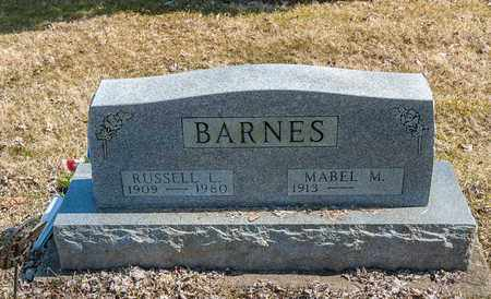 BARNES, RUSSELL L. - Wayne County, Ohio | RUSSELL L. BARNES - Ohio Gravestone Photos