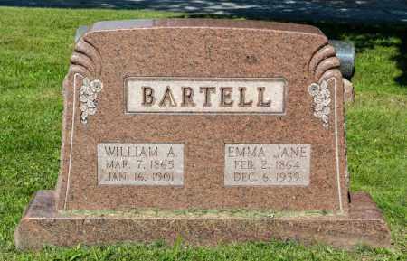 BARTELL, EMMA JANE - Wayne County, Ohio | EMMA JANE BARTELL - Ohio Gravestone Photos