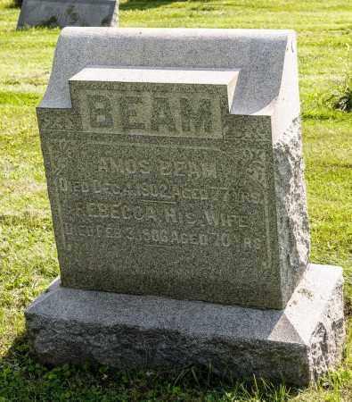 BEAM, REBECCA - Wayne County, Ohio | REBECCA BEAM - Ohio Gravestone Photos