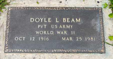 BEAM, DOYLE L. - Wayne County, Ohio   DOYLE L. BEAM - Ohio Gravestone Photos